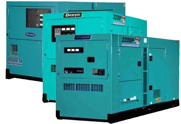 about denyo diesel generators