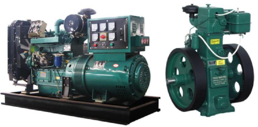 Lister diesel generators