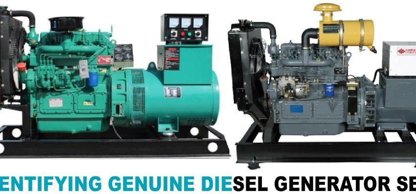 Identifying a Genuine Diesel Generator Set