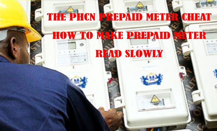 How to Make Prepaid Meter Read Slowly