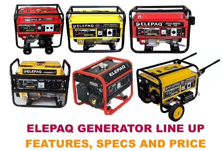 A complete review Elepaq Generator Line Up Features, Specs and Price