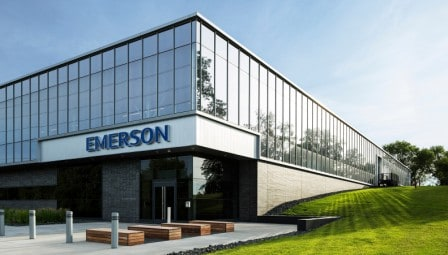 third top 10 biggest electrical companies in the world is Emerson Corporation