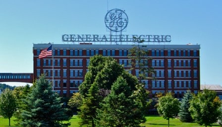 The number four top 10 biggest electrical companies in the world is General Electric Company