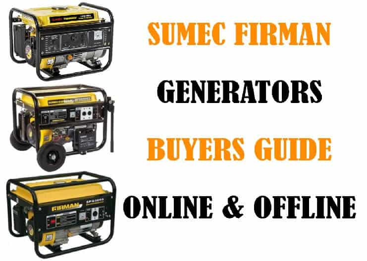 Online and offline tips for Sumec Firman Generator Buyers Guide