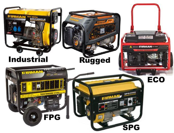 About Sumec Firman Generator Series