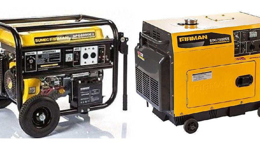 firman generator 5kva