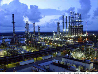 Chevron Corporation is described as an American multinational energy corporation