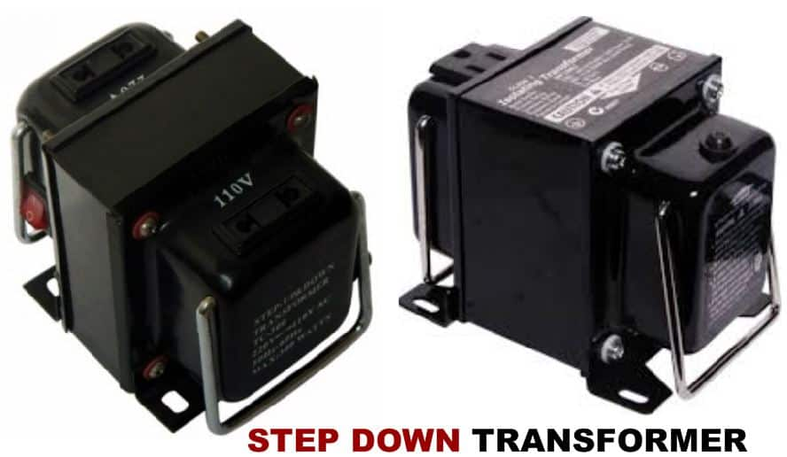 Step down transformer reviews, working principle, uses, price, how a step down transformer reduce voltage.