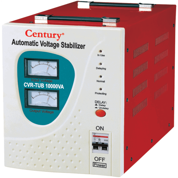 Century Automatic Voltage Stabilizer CVR-TUB-10000VA Review, Price, Features and Specifications