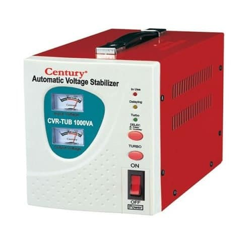 Review about Century Automatic Voltage Stabilizer 1000va, price, features and specifications