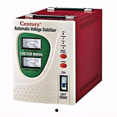 General review on Century Automatic Voltage Stabilizer 5000va, price, features and specs