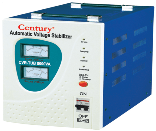 Review on Century Stabilizer CVR-TUB-8000VA, Price, Features and Specifications