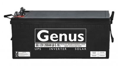 Genus Inverter Battery 12V 200V price, features and specs