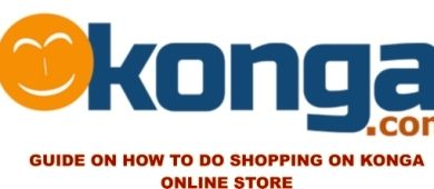 shopping on konga online store