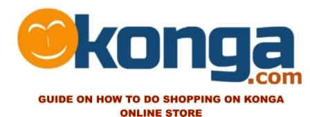 shopping on konga online store