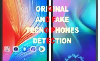 fake tecno phones and original tecno phones