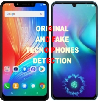 fake tecno phones and original tecno phones