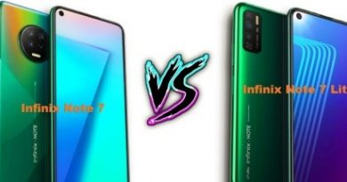 infinix note 7 vs infinix note 7 lite specs and features reviews