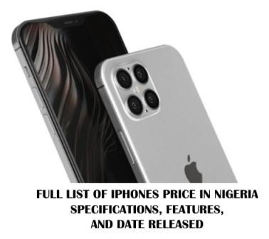 iphones Price in Nigeria