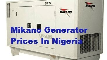 Review on Mikano generator prices in Nigeria