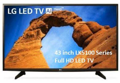 43 inch LK5100 Series Full HD LED TV