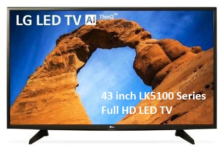 43 inch LK5100 Series Full HD LED TV