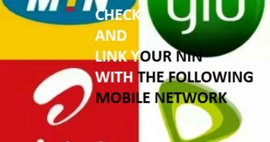link nin to mobile networks in Nigeria.