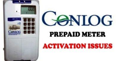 Conlog Prepaid Meter Activation