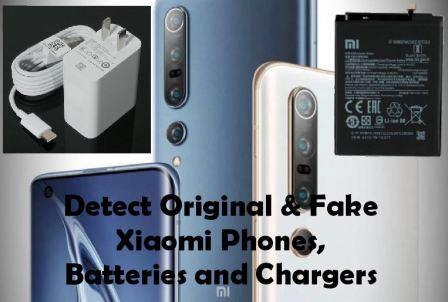 Original And Fake Xiaomi Phones