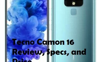 Tecno Camon 16 review