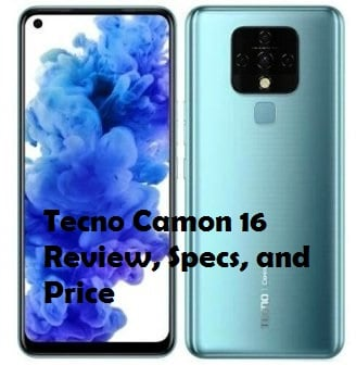 Tecno Camon 16 review