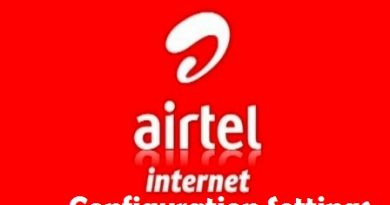airtel configuration settings