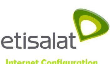 etisalat internet configuration