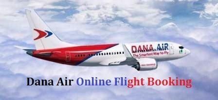 Dana Air Flight Booking Online