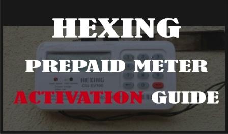 Hexing prepaid meter activation