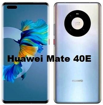huawei mate 40E smartphone