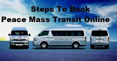 Book Peace Mass Transit Online