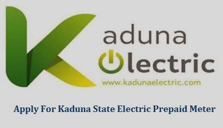 Apply For Kaduna State Electric Prepaid Meter
