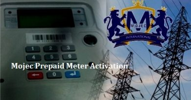 Mojec Prepaid Meter Activation