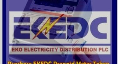 purchase EKEDC prepaid meter token