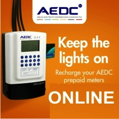 Recharge AEDC Prepaid Meter Online