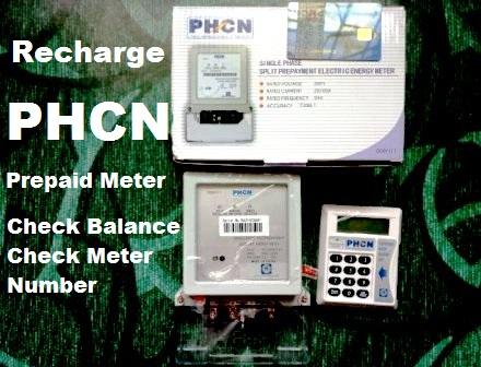 recharge PHCN prepaid meter