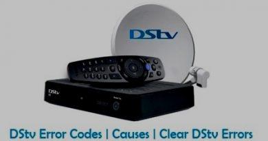 DStv errors