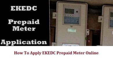 apply EKEDC Prepaid Meter online
