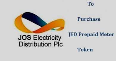 how to purchase JED prepaid token