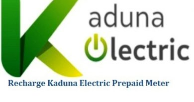 How To Recharge Kaduna Electric Prepaid Meter