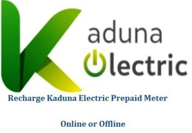 How To Recharge Kaduna Electric Prepaid Meter
