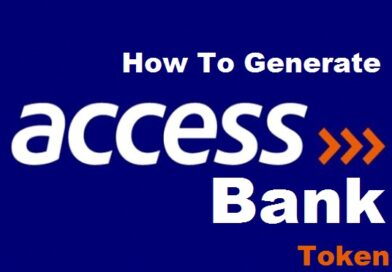 How To Generate Access Bank Token