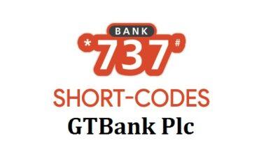 GTB USSD code