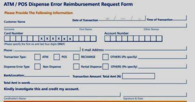 Access Bank Dispense Error